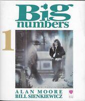 BIG NUMBERS 1 by Alan Moore & Bill Sienkiewicz