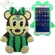 Pellicola+Custodia silicone 3D TOPO ANGURIA per Samsung Galaxy Note 3 N9005 case