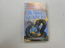 SIGNED X 3 The Demon of Scattery by Poul Anderson & Mildred Downey Broxon! LOOK!