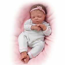 WARMING FEATURE! - Newborn 17 Inch Collectors Life Like Baby Girl Doll