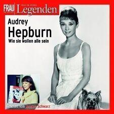 Frau im Spiegel pres Filmlegenden - Audrey Hepburn ( Hörbuch 2 CDs Biografie NEU