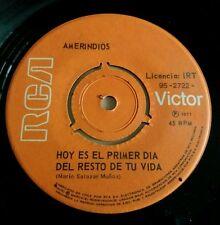 AMERINDIOS -Hoy es el primer dia.. VERY RARE CHILE Victor Jara Jaivas Blops MINT