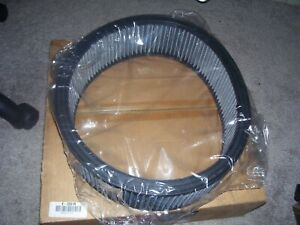 "NEW K&N E-3031R High Flow Air Cleaner Filter Element 4"" X 14"" NASCAR"