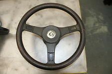 BMW E12 M535i steering wheel and Boss