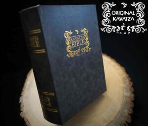 THE KAVATZA BIBLE by ORIGINAL KAVATZA - STASH BOX - WOODEN STASH ROLLING BOX
