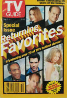 TV Guide Sept 1998 Magazine Special Issue Returning Favorites Hottest Shows NoML