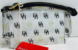 NWT*Dooney & Bourke*Clear*Cosmetic/Utility Case/Pouch-Makeup Case 21087X