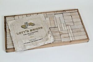 Vintage set of Lott's Bricks - perfect for the budding architect