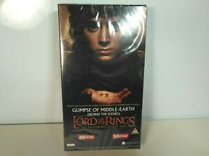 The Lord of the Rings VHS Glimpses of Middle Earth SEALED Quick Post