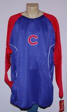 Chicago Cubs Big & Tall Mens Therma Base Sweatshirt 3XL - MLB Majestic