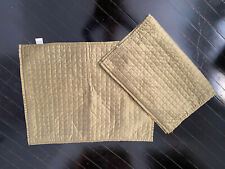 Target Modern Home Olive Green Quilted Queen Size Blanket Matching Shams