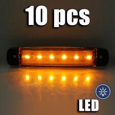 intermitente lateral Luces 24v x 10pcs Led Lámpara para Scania Daf Volvo Camión