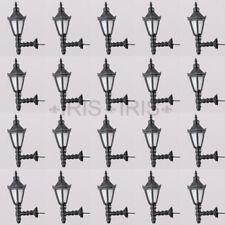 20pcs 1:25 Model Railway Led Lamppost Lamps Wall Lights G Scale 3V Warm White