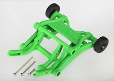 3678A Traxxas R/C Spares Green Wheelie Bar For Models: Stampede Rustler Bandit
