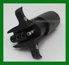 Trailer Light Adapter Plug 6 Round to Flat 4 pin