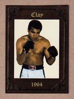 CASSIUS CLAY / MUHAMMED ALI WORLD CHAMPION '64 MONARCH CORONA SERIAL #/200
