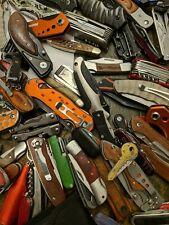 1 Random Tsa Confiscated Knive Pocket Knive, Multi Tool, Blade!