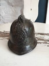BRASS bronze POLICE HELMET MONEY BOX