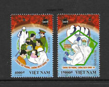 Viet Nam 2020-T11 Pandemic Special Issue 2V Stamp China 新冠病毒 特11