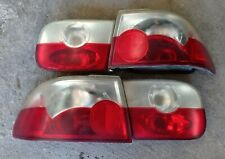 Set of 4pcs Red Clear Taillights 92 95 CIVIC 2/4dr Sedan Coupe USED EG EJ1 SR3