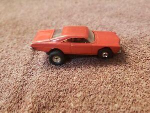 Autora T Jet 67 Ford Galaxie XL 500 Red Ho Scale Slot Car #1386 Runs. L@@k