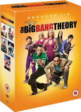 BIG BANG THEORY COMPETE SERIES 1-5 DVD Collection Season 1 2 3 4 5 UK Rele New