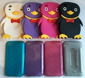 Silicone, Clip on back case cover for ipod Touch 4, 4th Generation - model A1367