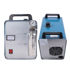 400W 95L Oxygen Hydrogen HHO Gas Flame Generator Torch Acrylic Polisher Machine