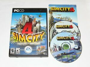Sim City 4 Deluxe Edition PC Game 2003 Complete