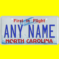 1/43-1/5 scale custom license plate set any brand RC/model car - N Carolina tag