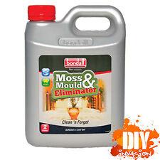 Bondall 5 Litre Moss Mould Mildew Eliminator Killer Kill Cleaner Remover