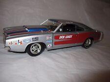 ERTL Dandy Dick Landy 1/18 1968 Dodge Charger R/T MOPAR Die-Cast Muscle Car