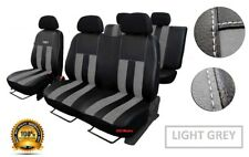 VW Transporter T5 Crew Cab Seat Covers 6x T-Sporter Logo