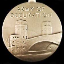 WW2 U.S. ARMY OCCUPATION  MEDAL OF GERMANY AND JAPAN ORDER