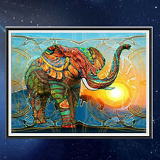 Animal Eléphant Diamant Broderie Peinture Point de Croix Kit 5D en Toile