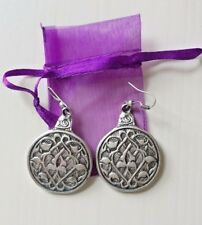 GORGEOUS LARGE CELTIC EARRINGS - NEW WITH TAGS NEVER WORN