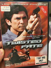 Twisted Fate ex-rental region 4 DVD (2002 Lou Diamond Phillips movie) RARE