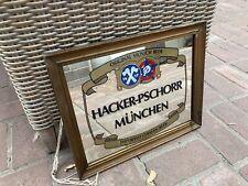 New listing Vintage Beer Mirror Munich Germany Hacker-Pschorr Munchen Man Cave