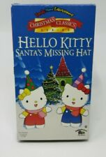 HELLO KITTY: SANTA'S MISSING HAT ANIMATED VHS VIDEO, CHRISTMAS CLASSICS SERIES