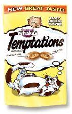 (36) Whiskas 72306 3oz Temptations Chicken Flavor Crunchy Cat Snacks Treats Food
