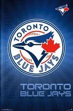 TORONTO BLUE JAYS - LOGO POSTER - 22x34 BASEBALL MLB 14702