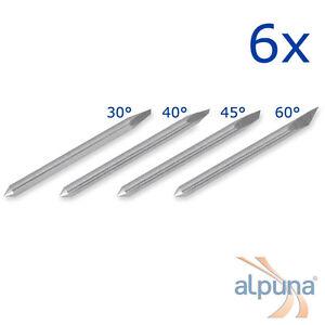 6 Plottermesser für Mimaki 30° ALPUNA Qualitätsmesser