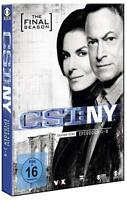 CSI NY Season Staffel Nine 9.1The Final Episoden 1-9 Limited 3 DVD Box Set Neu