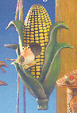 Ceramic Bisque Ready to Paint Ear of Corn Bird House with hanger kit
