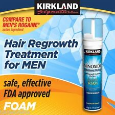 Kirkland Foam Aerosol Minoxidil 5% Hair Regrowth - 1 Month Supply