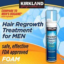 Kirkland Foam Aerosol Minoxidil 5% Hair Regrowth - 1 Month Supply
