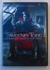 DVD SWEENEY TODD - Johnny DEPP / Helena BONHAM CARTER - Tim BURTON