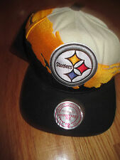 Mitchell & Ness PITTSBURGH STEELERS (Adj Snap Back) Cap w/ Sticker and Hologram