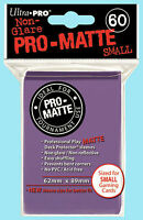 Ultra Pro 60 PURPLE PRO-MATTE Small Deck Protector NEW Gaming Card Sleeves Pack
