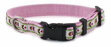NEW LARGE L Fido Finery Cupcake Cake Pink  Dog Puppy Collar w/Quick Snap Buckle